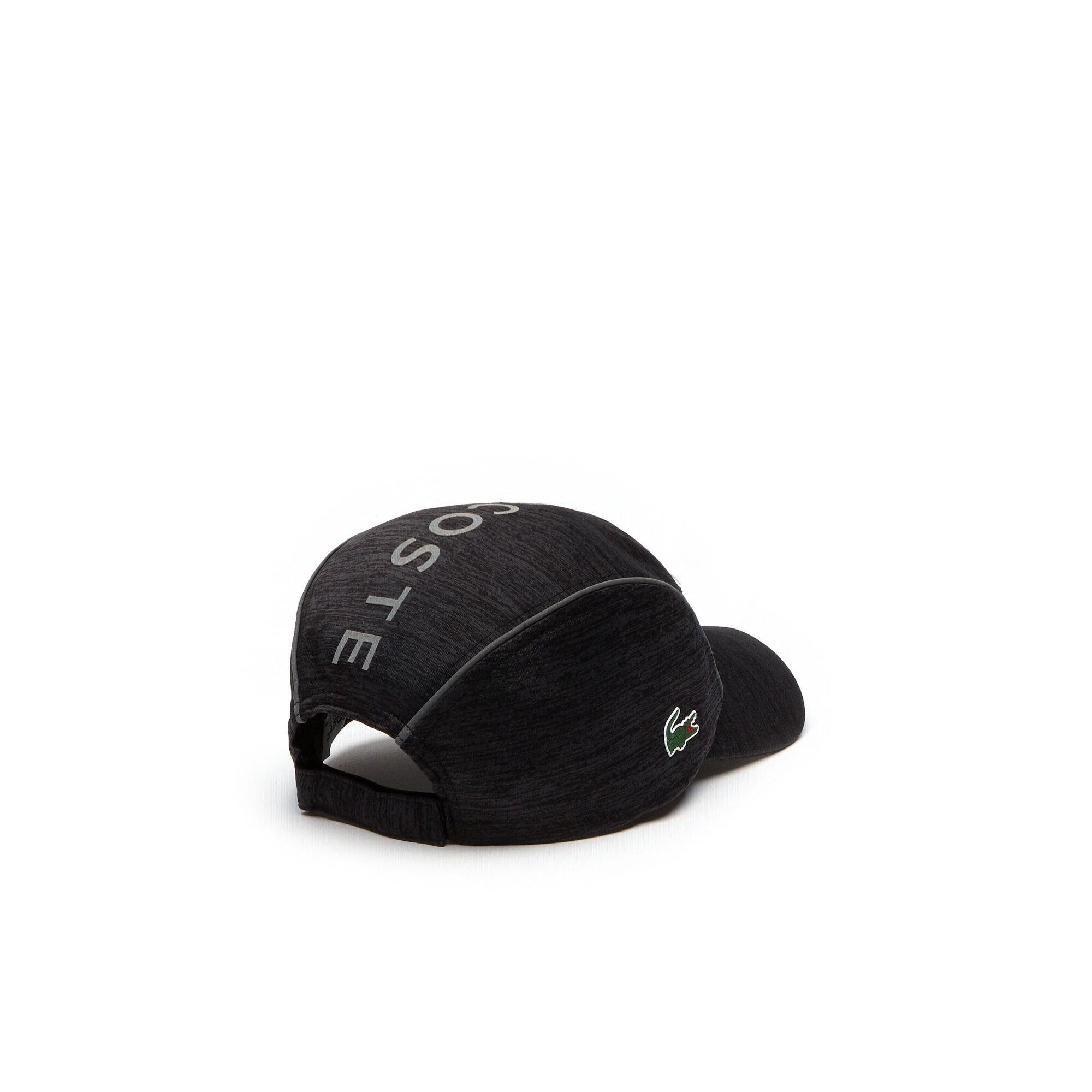 3dd2908a5 Lyst - Lacoste Sport Tennis Jersey & Metallic Mesh Cap in Black for ...