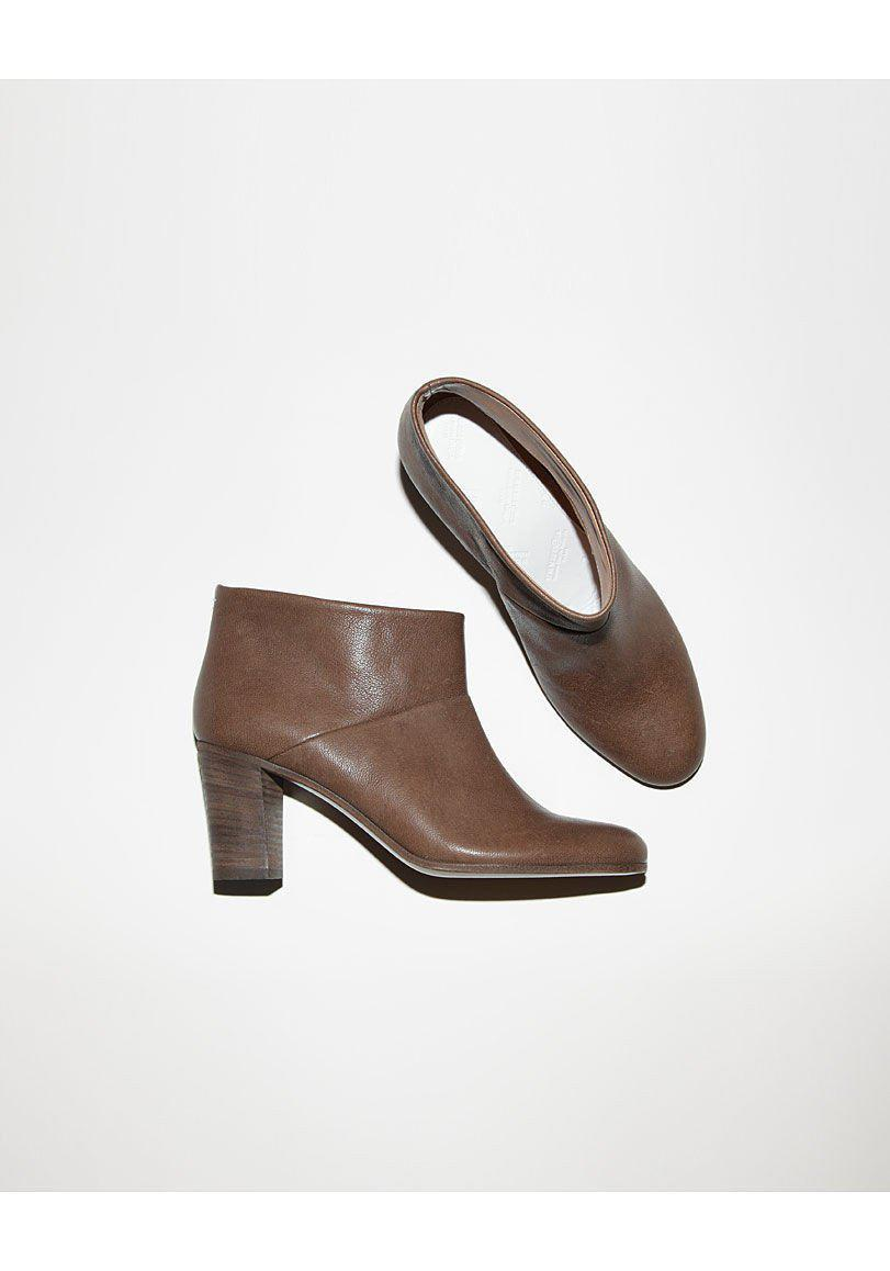 Maison Margiela Leather Ankle Boot