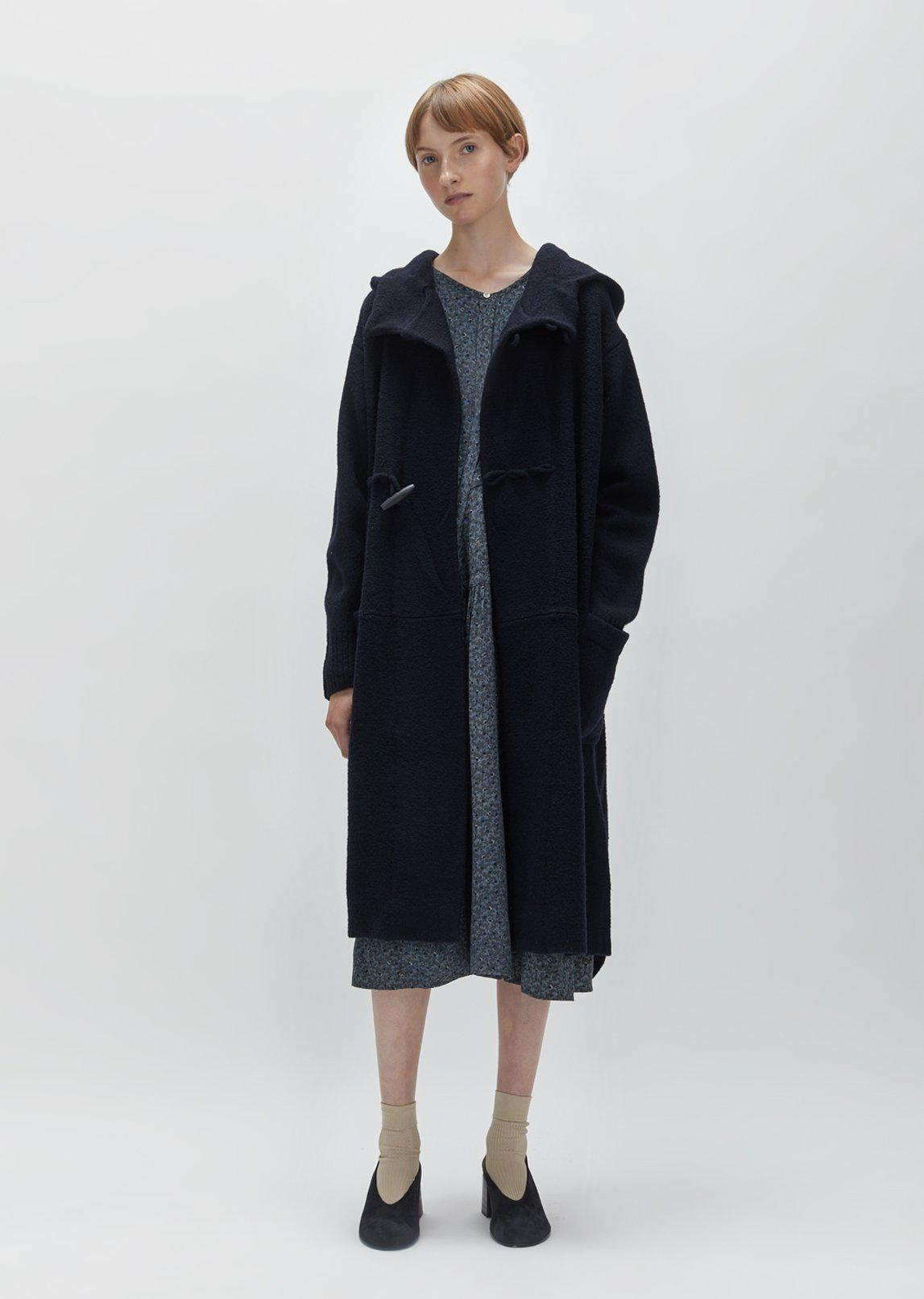 Zucca Toggle Sweater Coat in Blue | Lyst