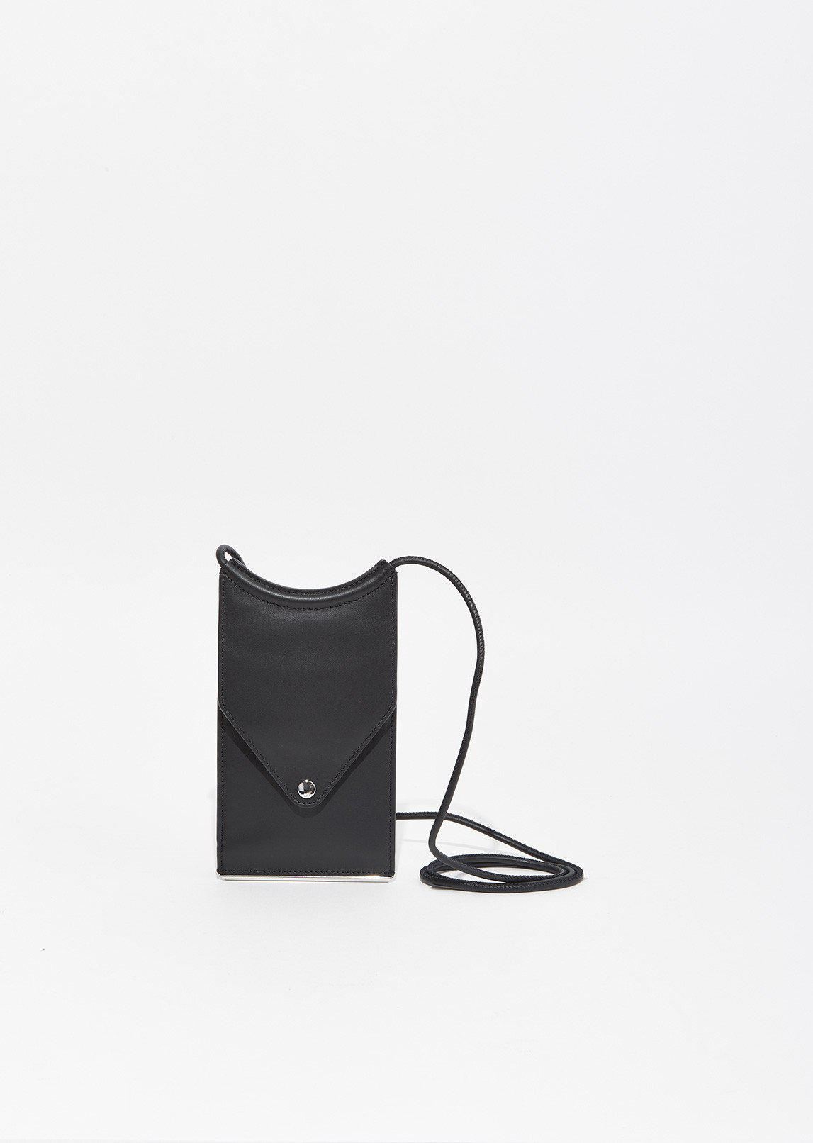 b537a93f4 Alexander Wang Dime Neck Wallet in Black - Lyst