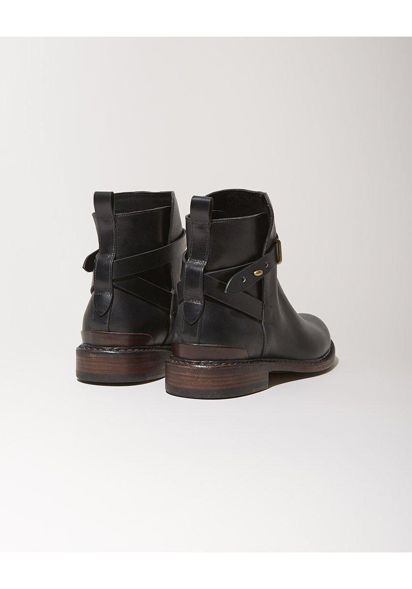 Rag & Bone Leather Driscoll Boot in Black