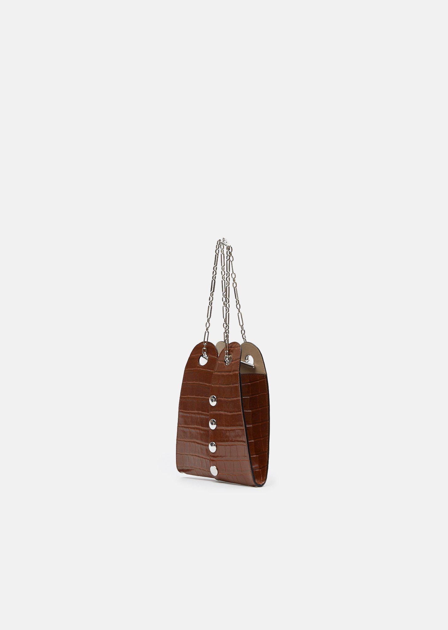 af8c390c892 Lemaire Brown Mini Double Folded Bag