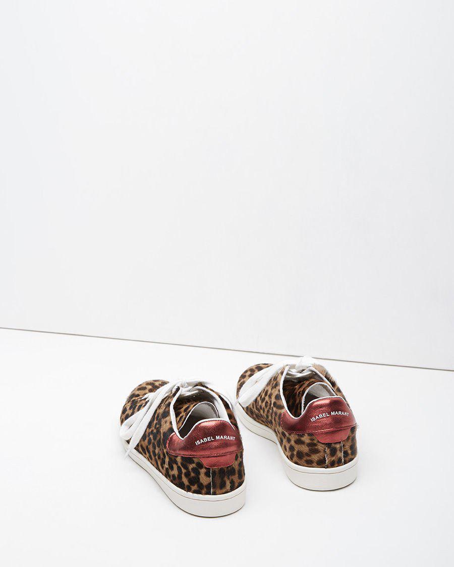 Étoile Isabel Marant Leather Bart Sneaker