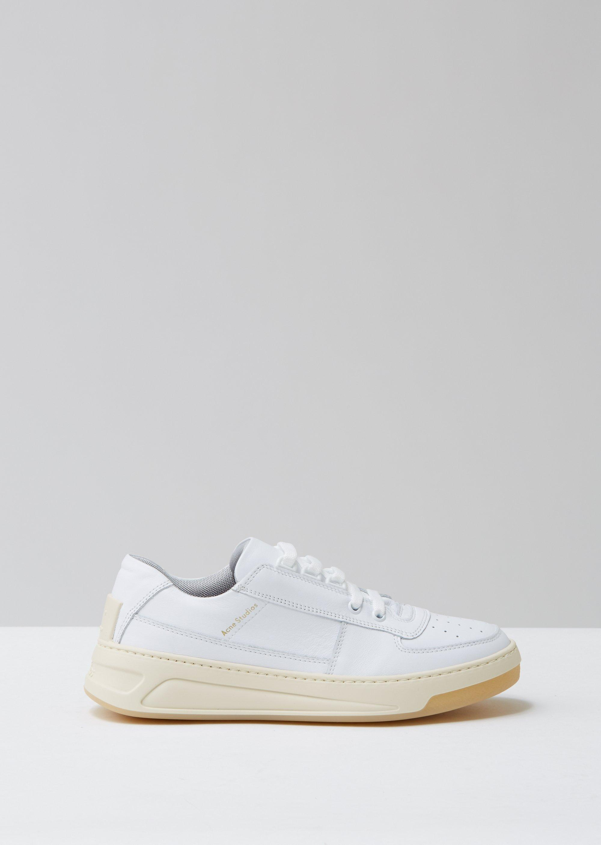 Acne Studios Leather Steffey Lace Up