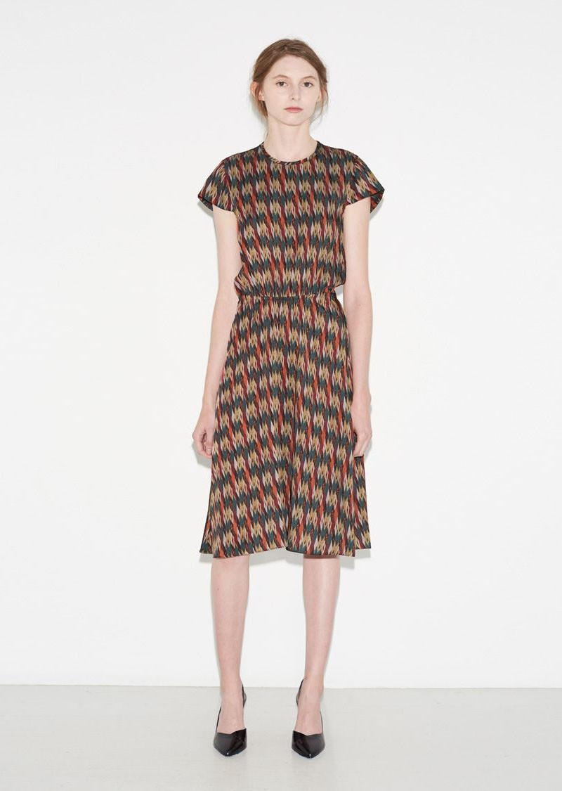 Toile isabel marant harold printed dress lyst for Isabel marant shirt dress