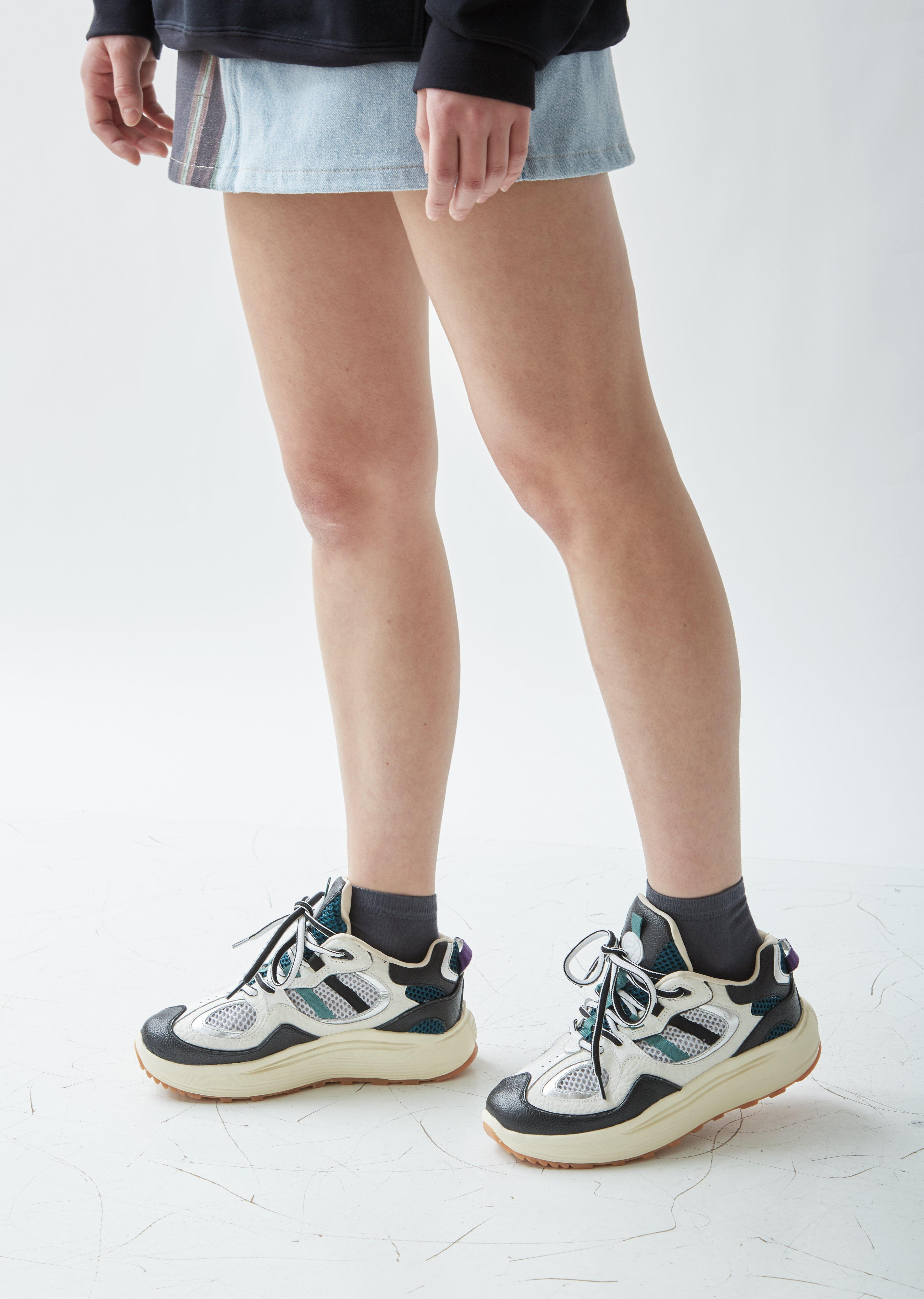 Eytys Jet Turbo Leather Sneakers in