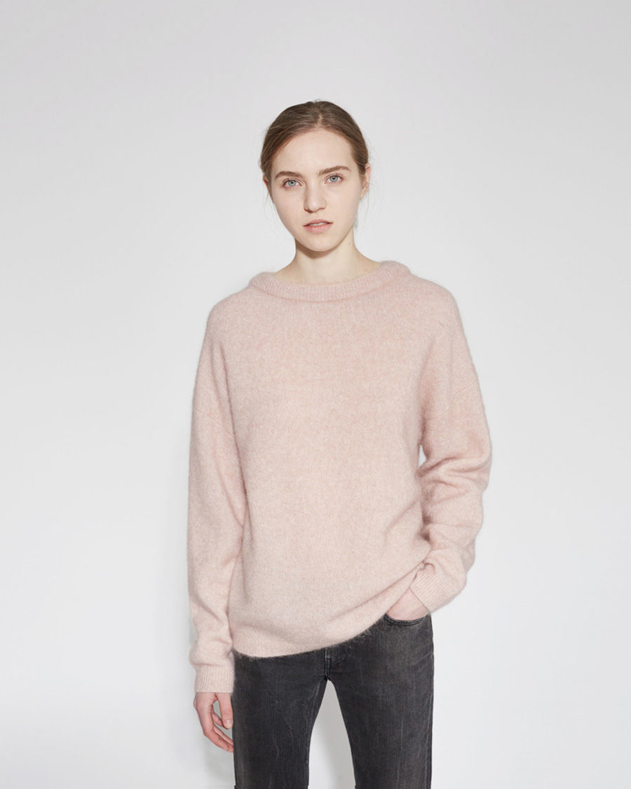 Dramatic Pink Eye Makeup: Acne Studios Dramatic Mohair And Wool-Blend Pullover In