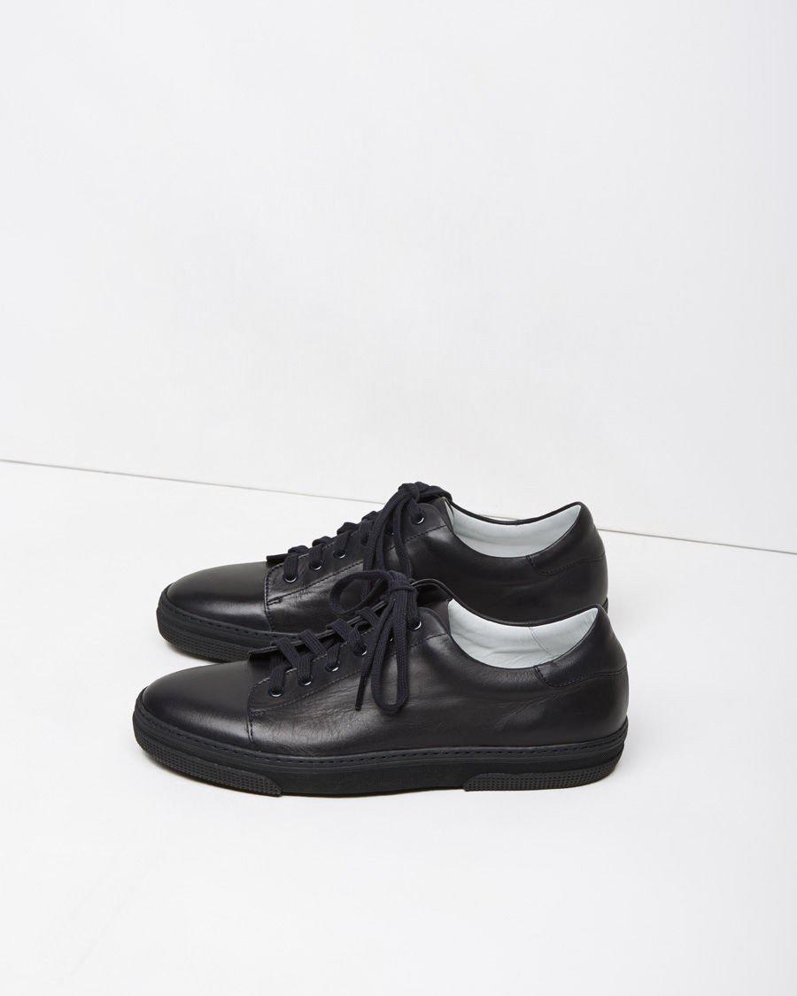 A.P.C. Leather Jaden Tennis Shoes for Men