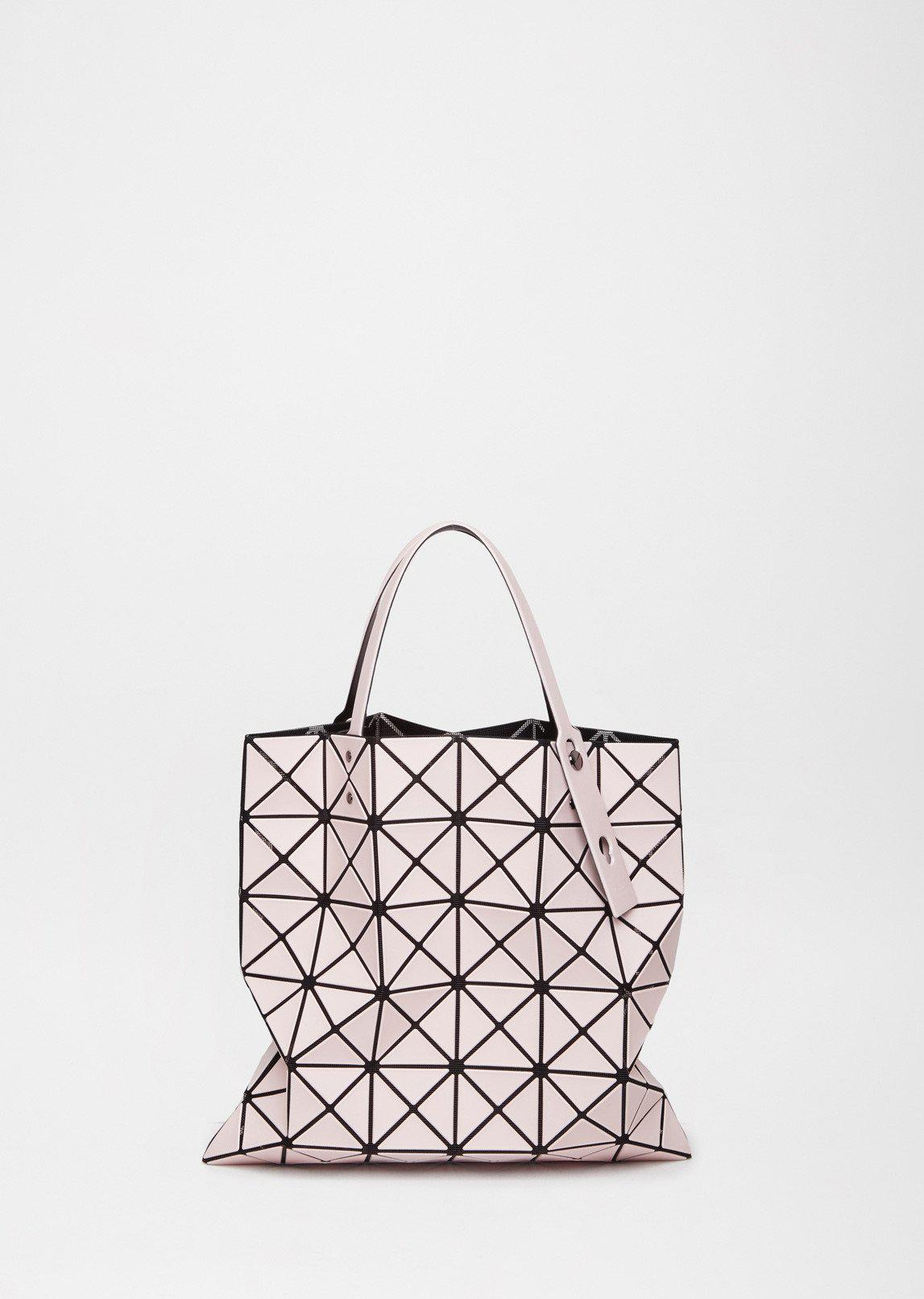 b7d03317c02 Womens Gray Lucent Tote Bag  best authentic a387f af8f5 Lyst - Bao Bao  Issey Miyake lucent Frost Bag in Pink ...
