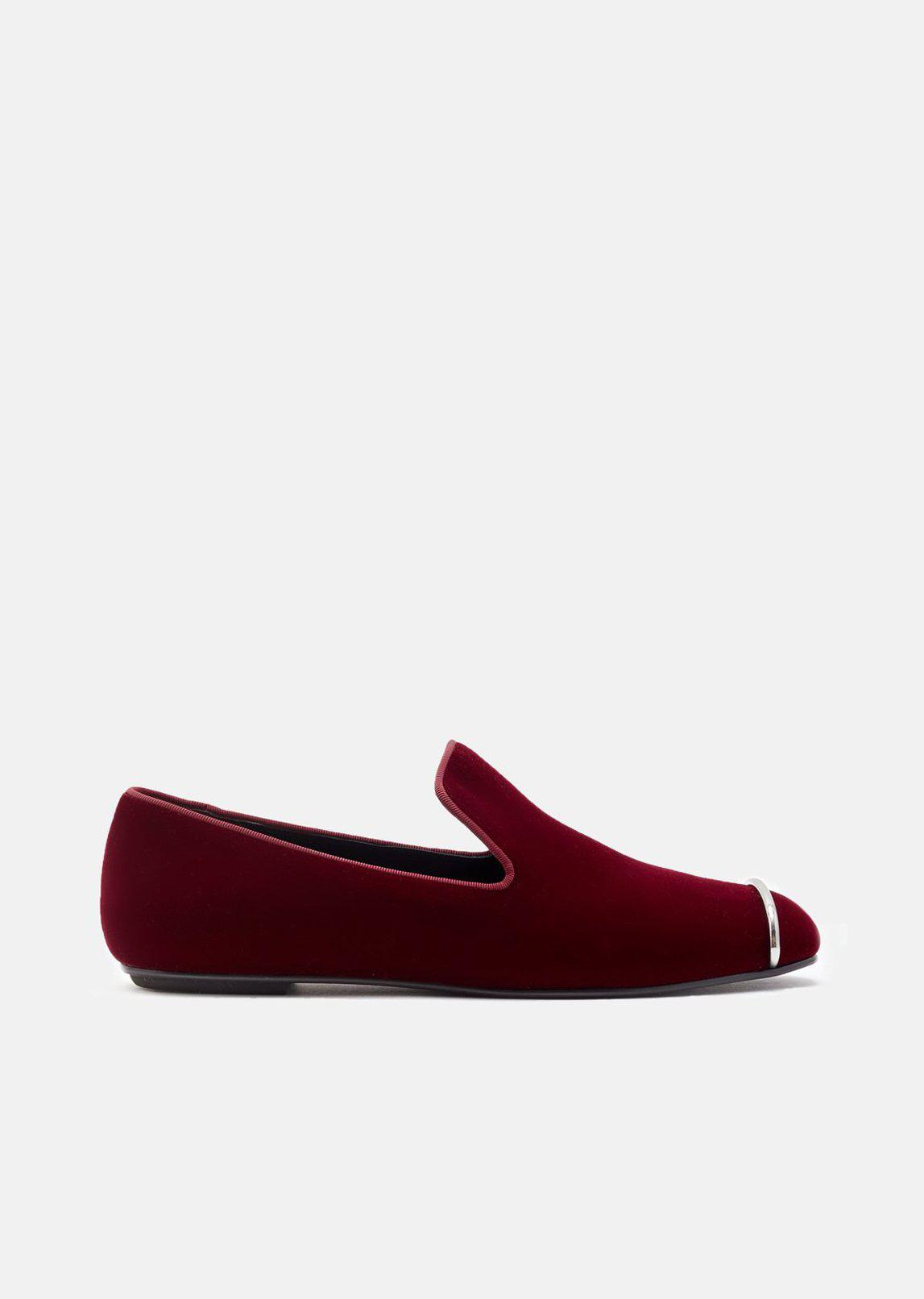 outlet with paypal order geniue stockist online Alexander Wang Kallie Velvet Loafers w/ Tags free shipping explore outlet limited edition s9vCK