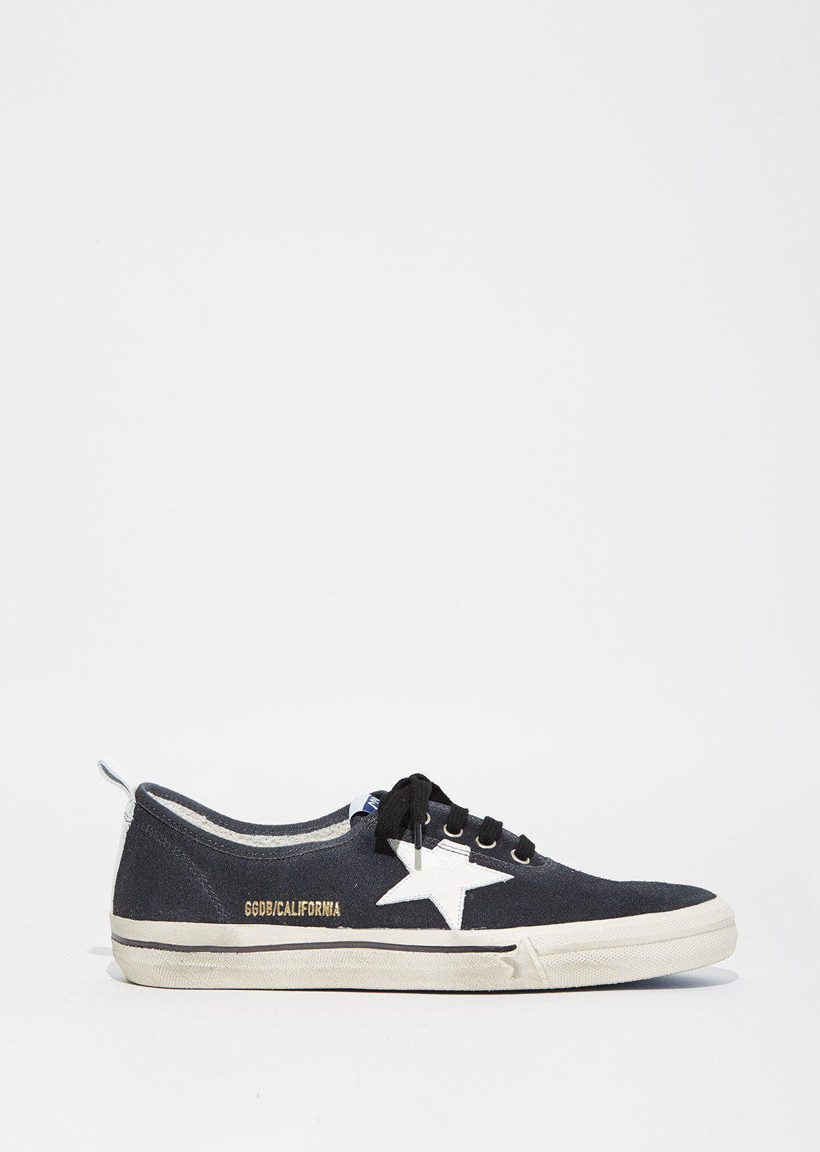 Free Shipping Popular Black Suede California Sneakers Golden Goose Perfect Cheap Online Pictures Sale Online BR7UFjZ