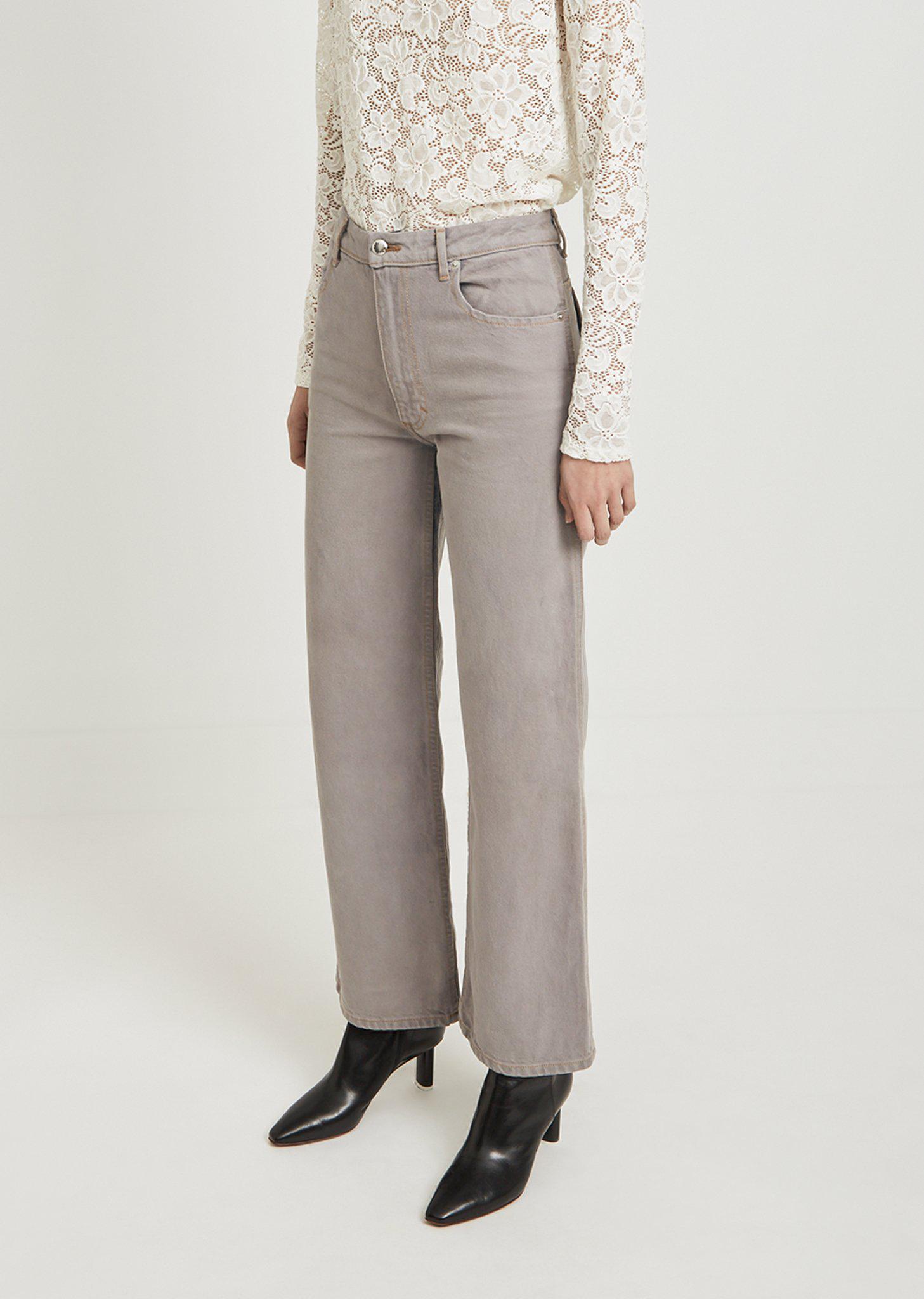 Eckhaus Latta Denim Wide Leg El Jeans