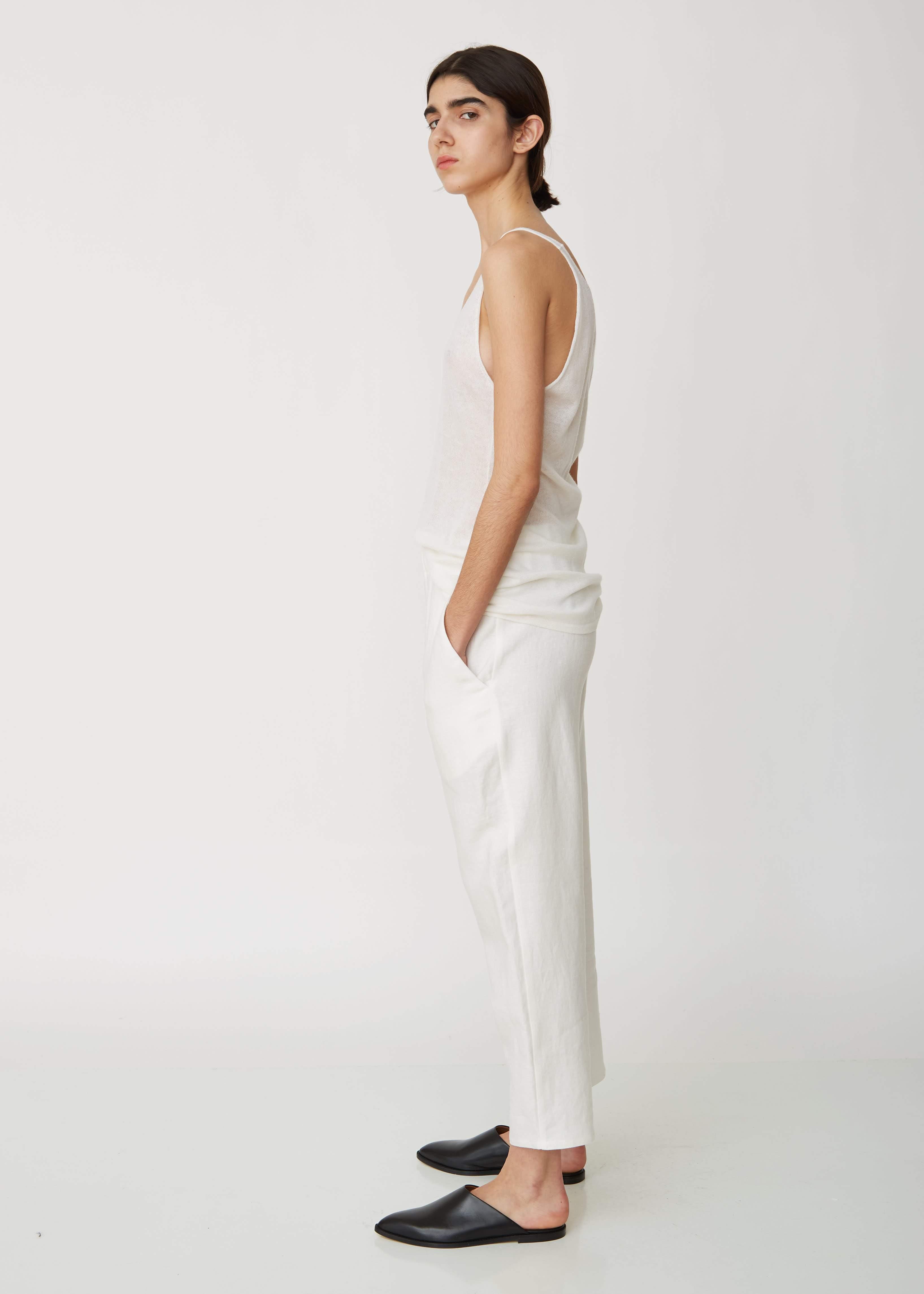 859b6b2d6d Dusan Linen Pyjama Pants in White - Lyst