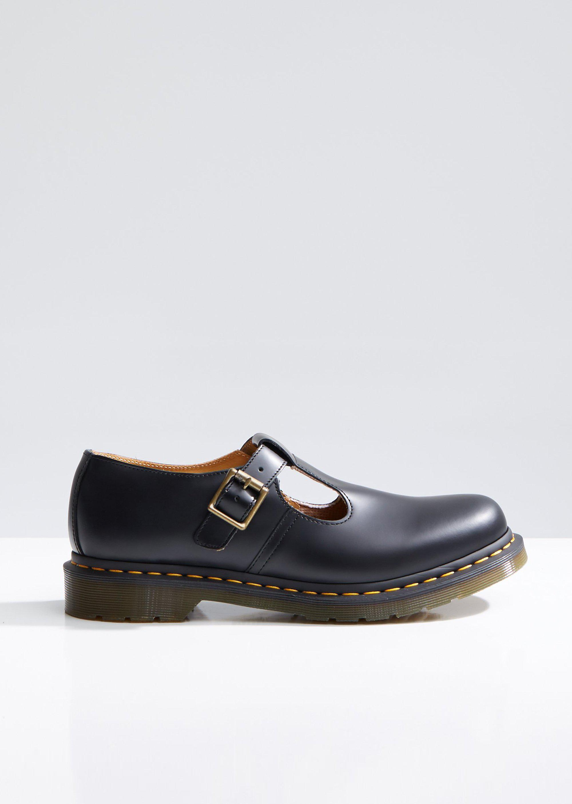 5de65aa77aa Dr. Martens Polley T Bar Mary Janes in Black - Lyst