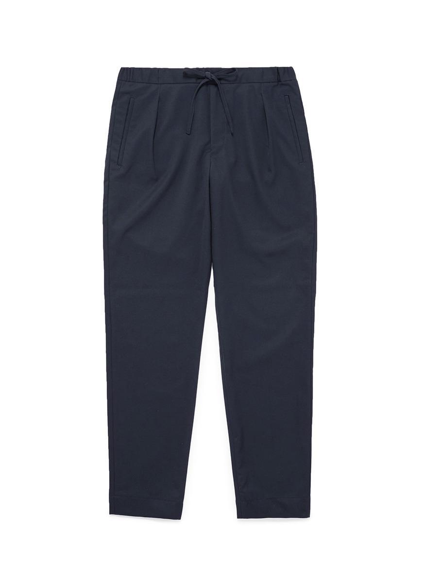 Easy Cotton-twill Trousers Camoshita pMFIN