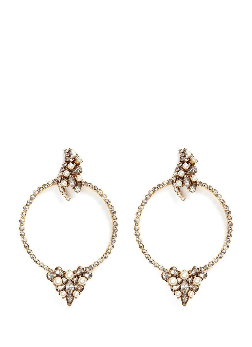 Erickson Beamon Together Forever Earrings iRY7fzyS