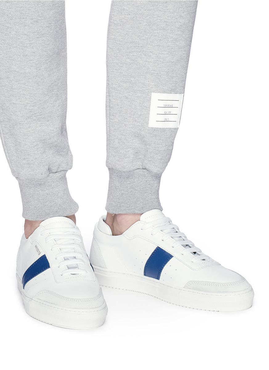 Axel Arigato Leather Dunk Sneaker in