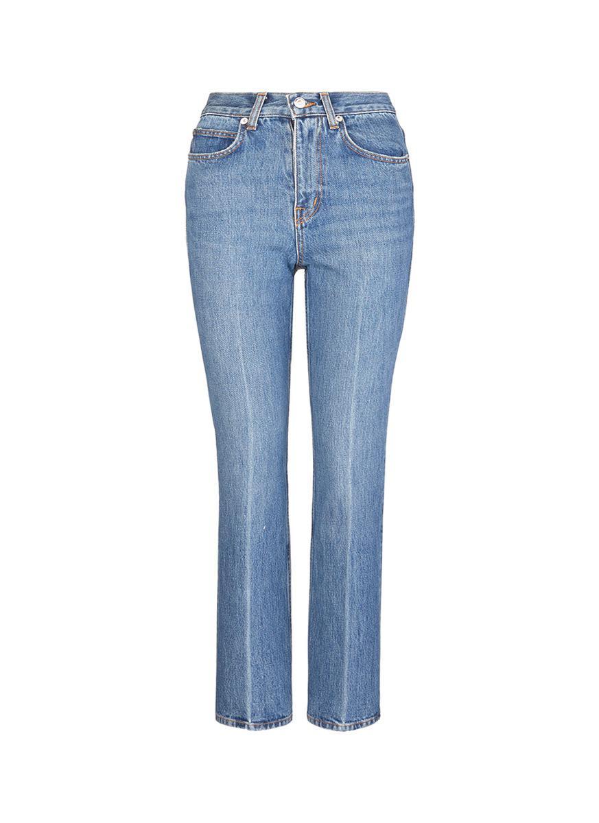 cropped jeans - Blue Proenza Schouler WJQRssGn