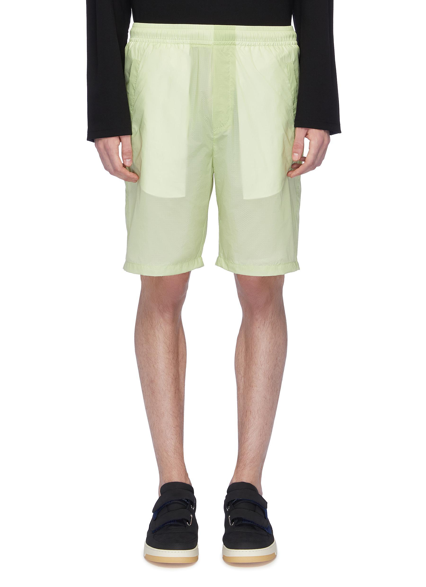 6a539e58d0 Acne Studios 'romeo' Ripstop Shorts in Green for Men - Lyst