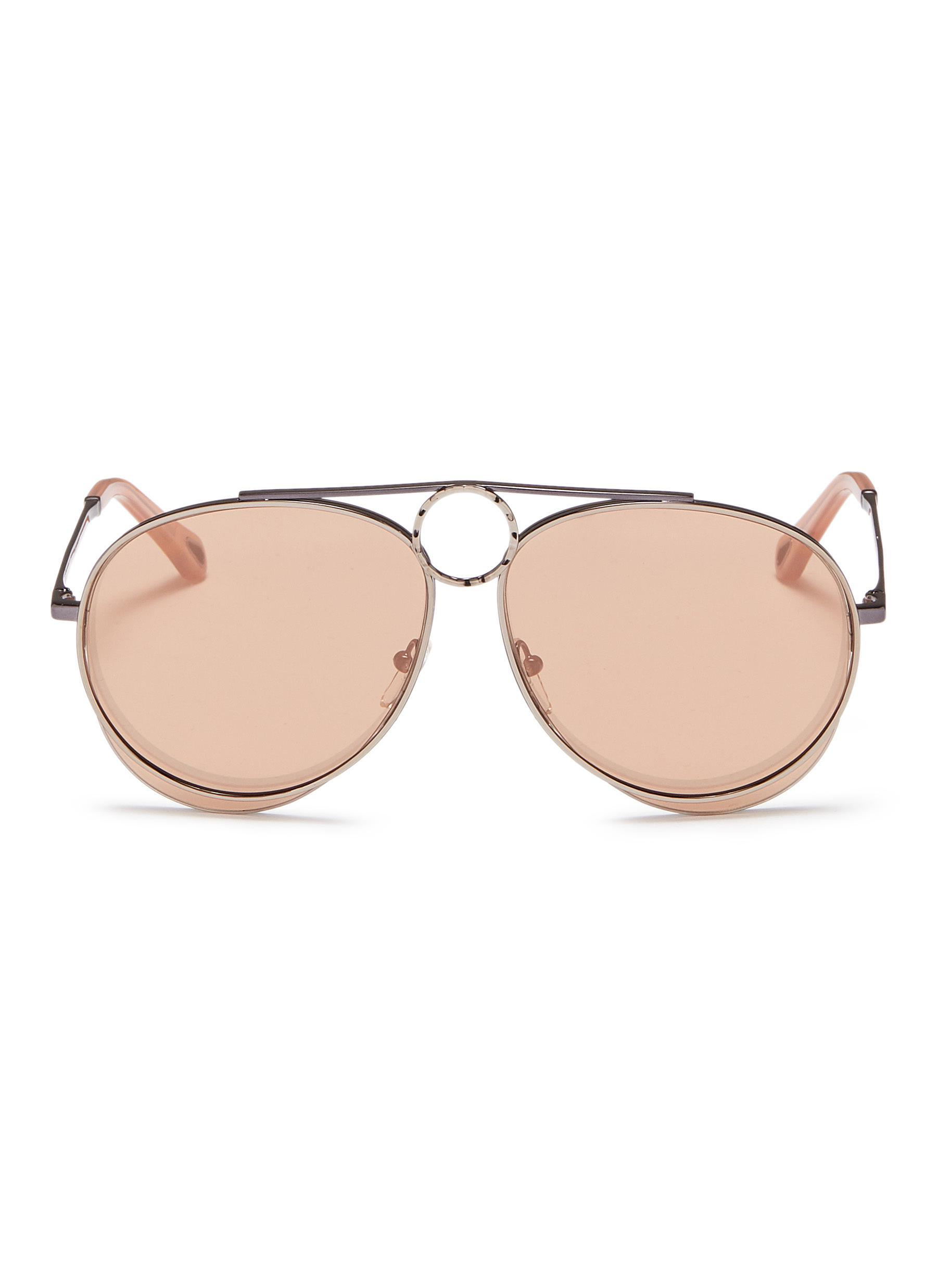 cab39a3e3d0 Gallery. Previously sold at  Lane Crawford · Women s Mirrored Sunglasses ...