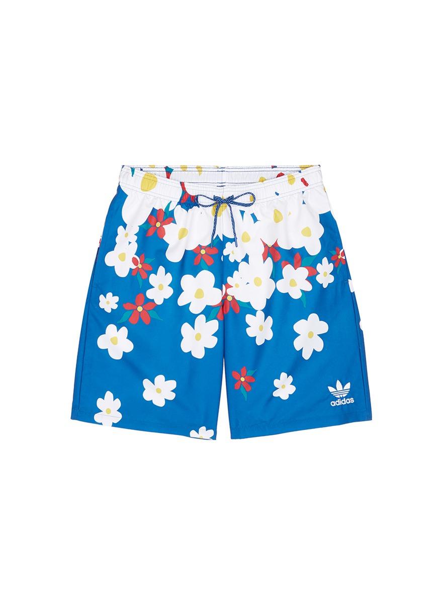 For Blue Williams Daisy Shorts Originals Swim Men Pharrell Adidas Men's vN8w0Onm