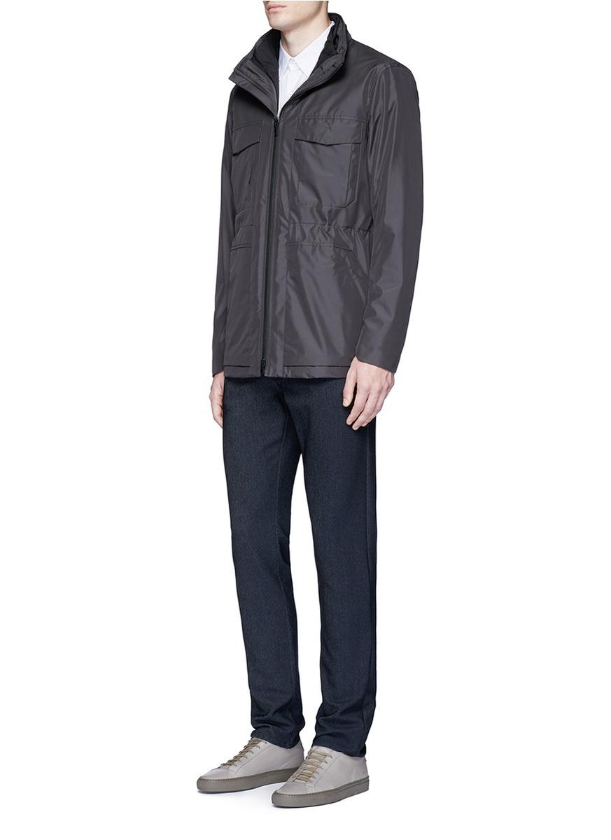 Theory Synthetic 'marcus' Two-in-one Field Jacket for Men
