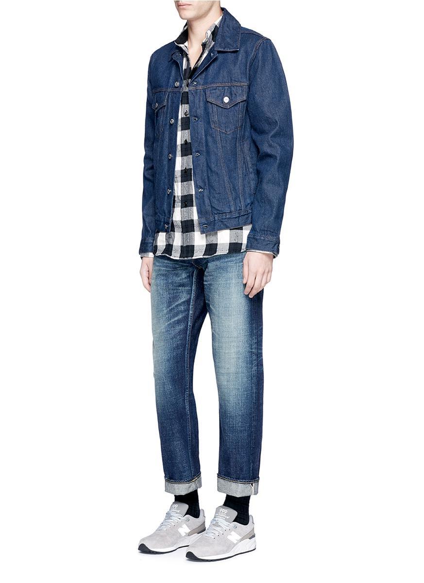 FDMTL Denim 'heritage' 1-year Wash Selvedge Jeans in Blue for Men