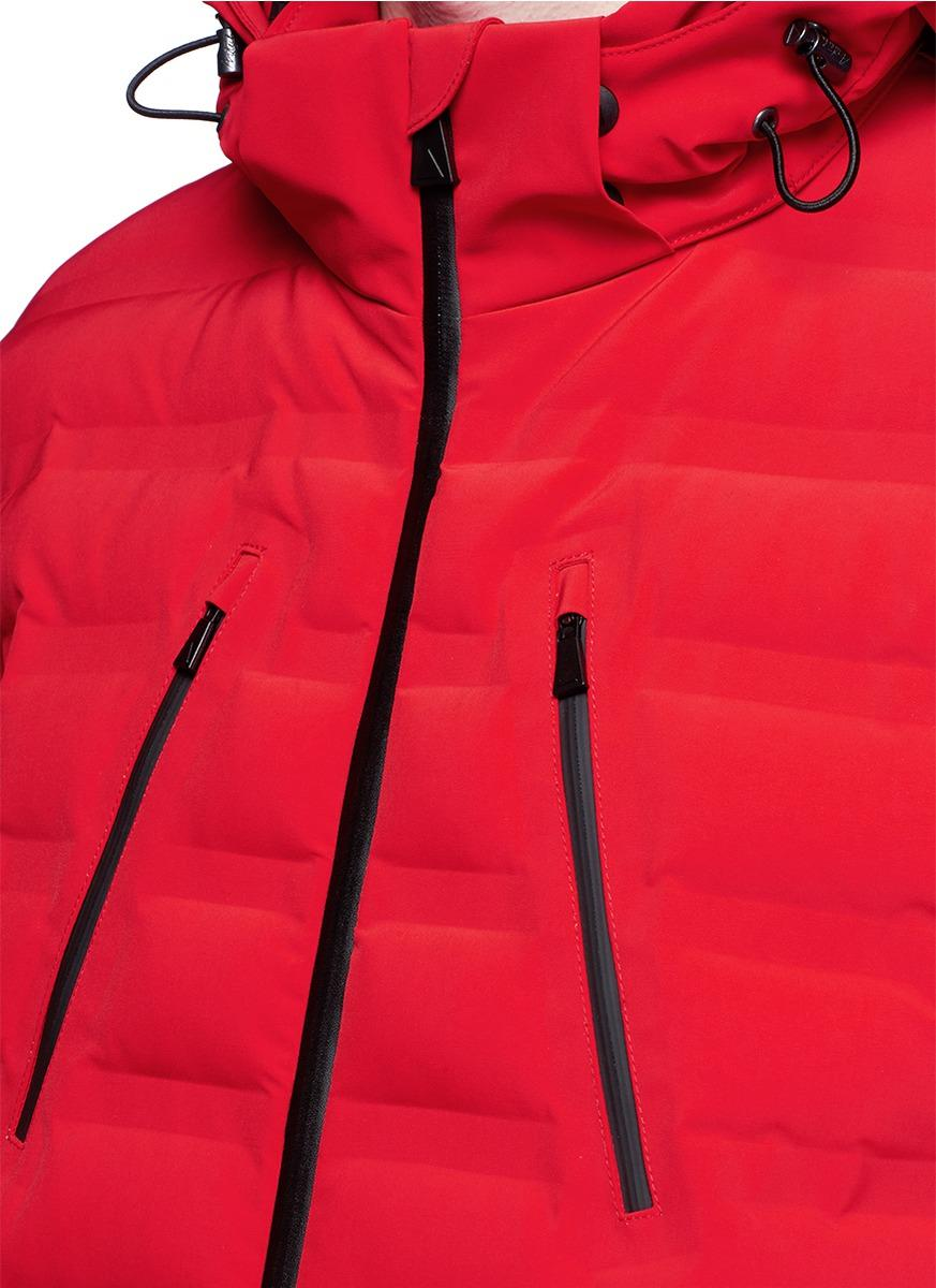 Aztech Mountain Synthetic 'nuke Suit' Down Puffer Nylon Jacket for Men