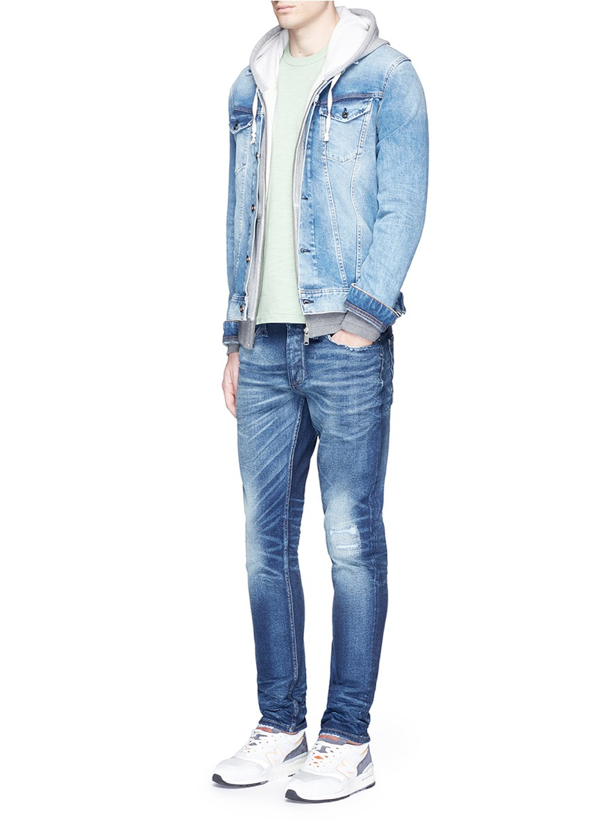 Denham 'amsterdam' Denim Jacket in Blue for Men