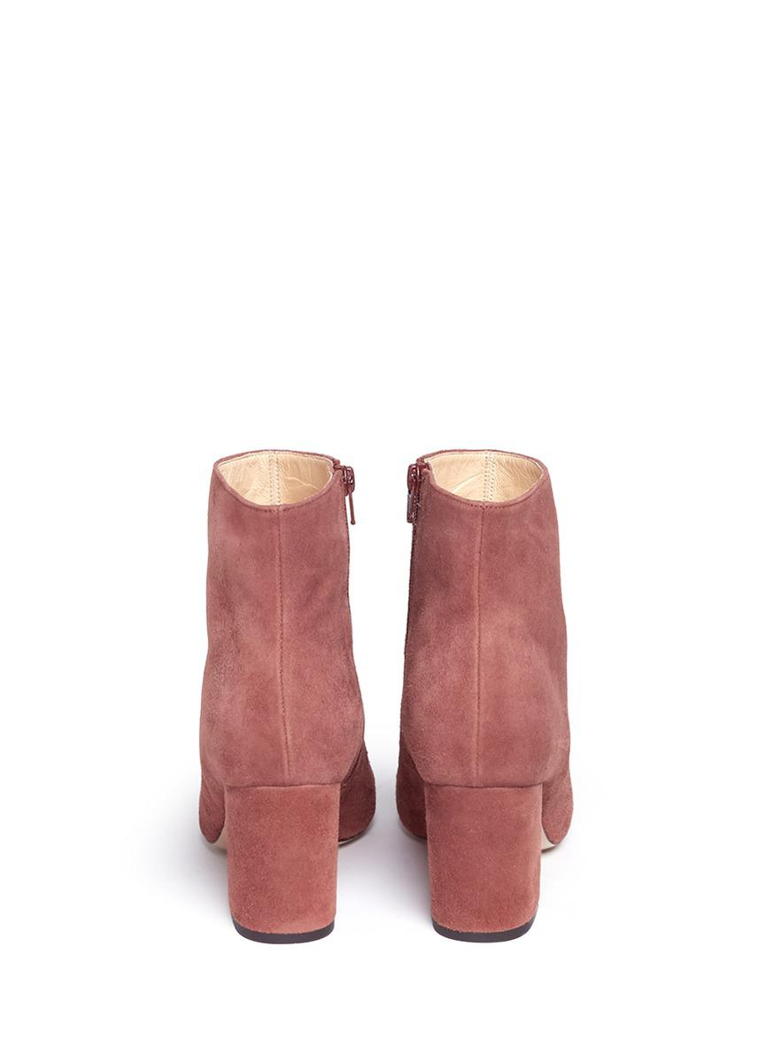 Fabio Rusconi 'meringa' Suede Ankle Boots in Brown