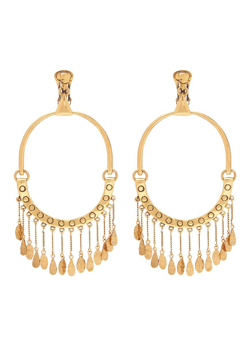 Chloé Quinn dangle earrings - Metallic Z2kDIS