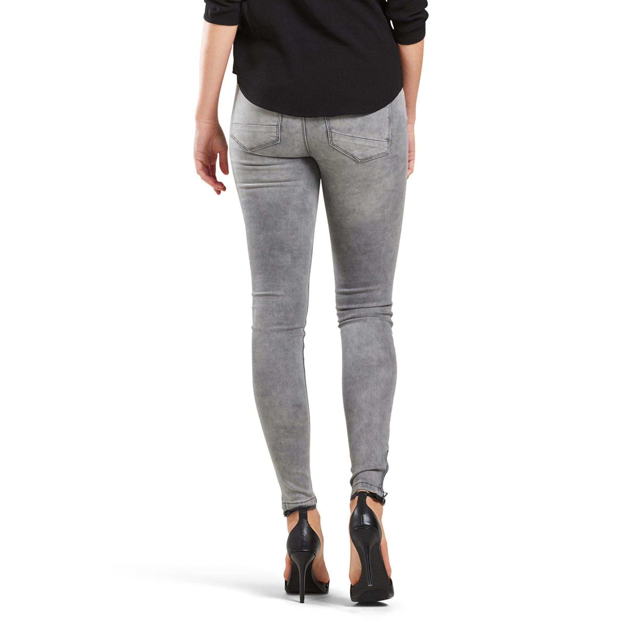 only regular 7 8 jeans length 30 in gray lyst. Black Bedroom Furniture Sets. Home Design Ideas