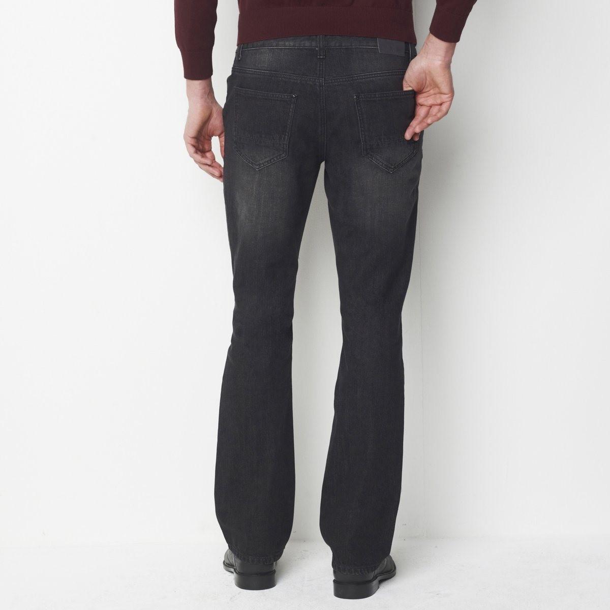 74c02d0a5184 Lyst - La Redoute Bootcut Jeans Length.34. in Black for Men