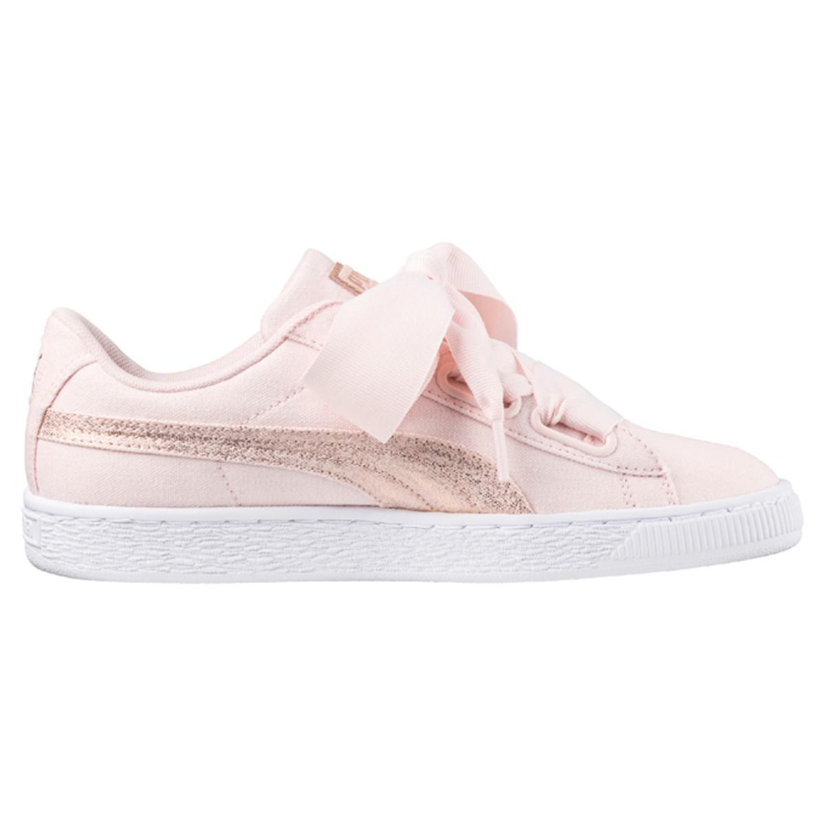 PUMA W Heart Canvas Trainers 100% guaranteed sale online tumblr cheap online outlet newest footaction online clearance sale VcZZaVf