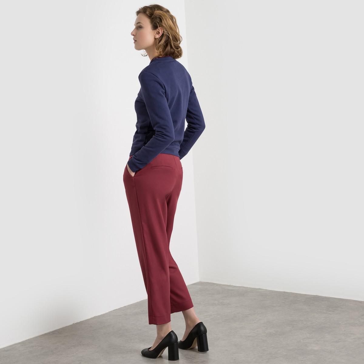 lyst la redoute made in france slogan sweatshirt in blue. Black Bedroom Furniture Sets. Home Design Ideas
