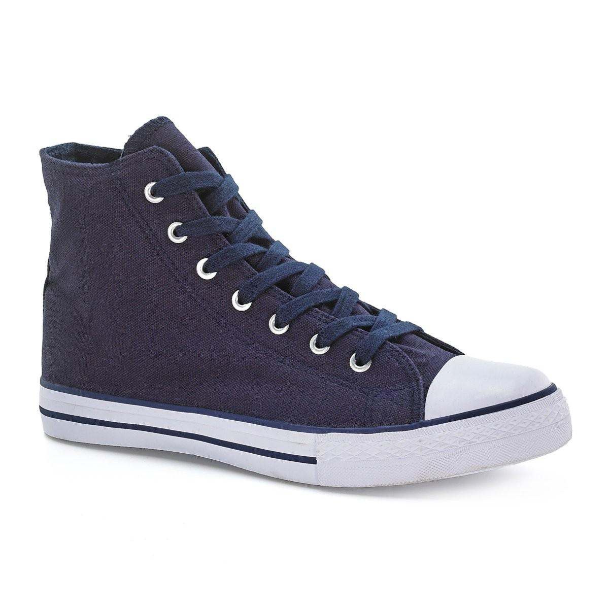 La Redoute Collections Chah 17 Leather Lace-Up High Top Trainers outlet amazing price 6M96JGv3rw