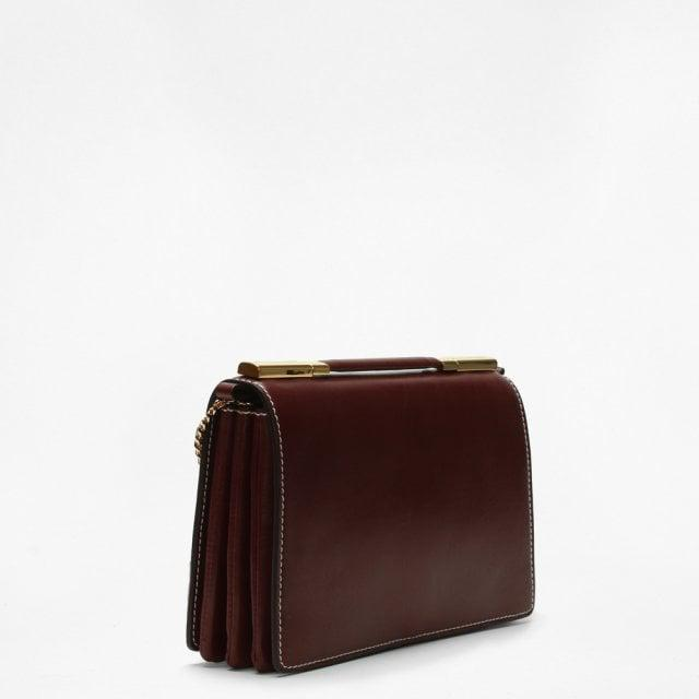 0e3e5c88b3c7 Stella McCartney - Multicolor Small Flo Burgundy Alter Leather Shoulder Bag  - Lyst. View fullscreen