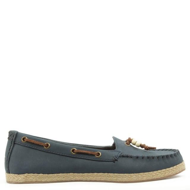 2e01b6d5a89 Ugg Blue Ugg Australia Suzette Navy Moccasin Shoe