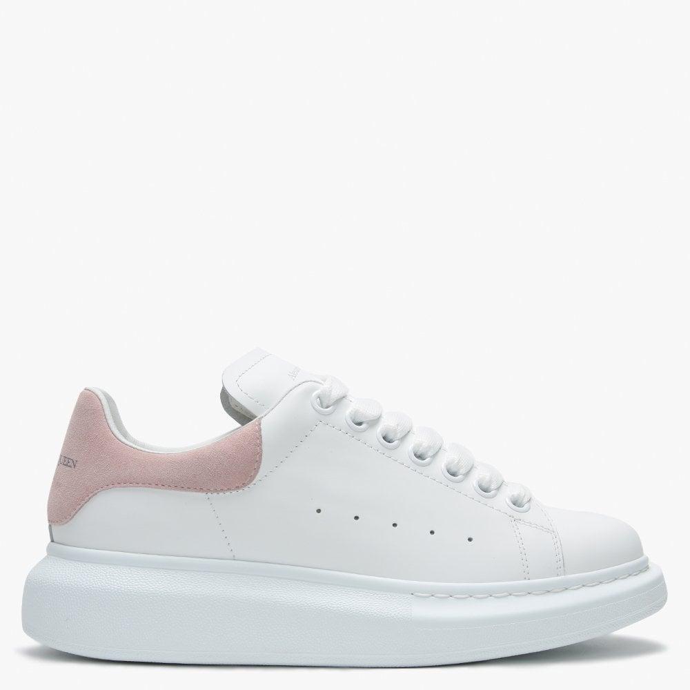 Alexander McQueen Suede Oversized Pink