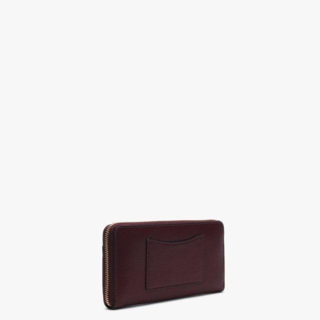 620198480c0d Michael Kors - Multicolor Zip Around Continental Pocket Oxblood Leather Zip  Around - Lyst. View fullscreen