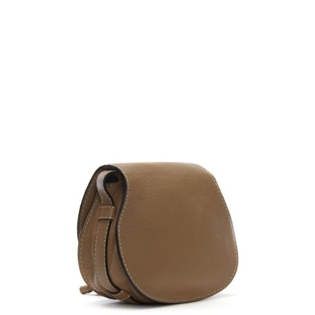 01f31d280a Lyst - Chloé Chloe Marcie Brown Leather Small Satchel Bag in Brown