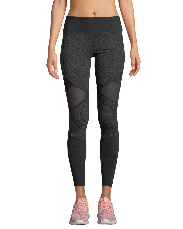 c6cd36b22a1e Marika Tek Jordan Space Dye High-waist Leggings in Black - Lyst