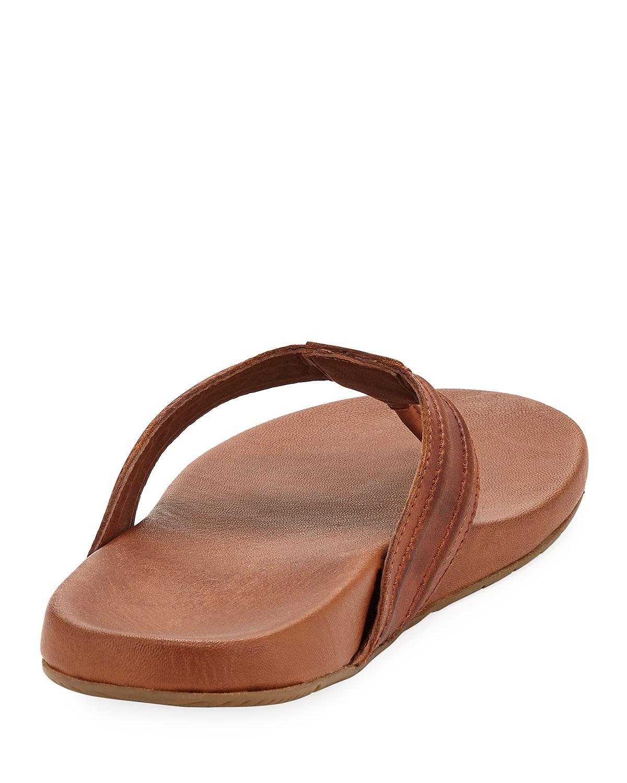 a6f2de3eac00a Tommy Bahama Delani Relaxology Flat Sandal in Brown for Men - Lyst