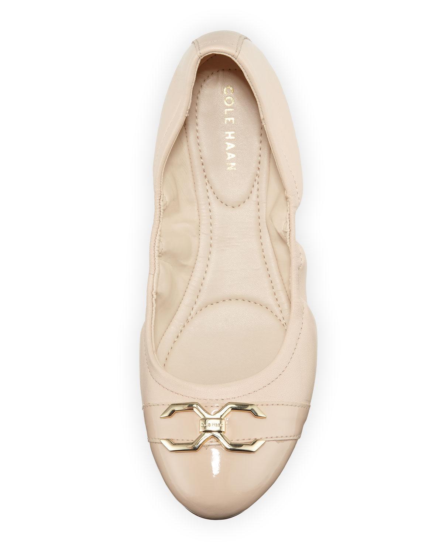 Cole Haan Terrin Leather Ballet Flats