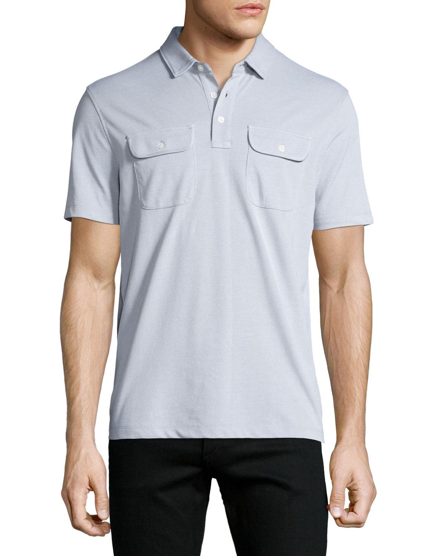 michael kors birdseye polo shirt in multicolor for men lyst. Black Bedroom Furniture Sets. Home Design Ideas