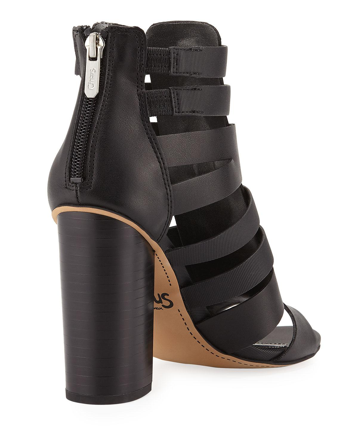 6aba3d180b0e2 Lyst - Circus by Sam Edelman York Cutout Zip-up Gladiator Bootie in ...