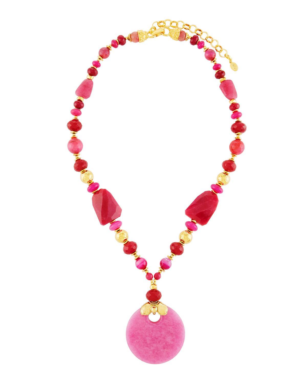 Jose & Maria Barrera Agate & Abalone Multi-Strand Beaded Torsade Necklace OTt9V