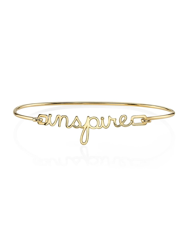 Sydney Evan 14k Pure Rose Gold Inspire Bracelet Gmt51