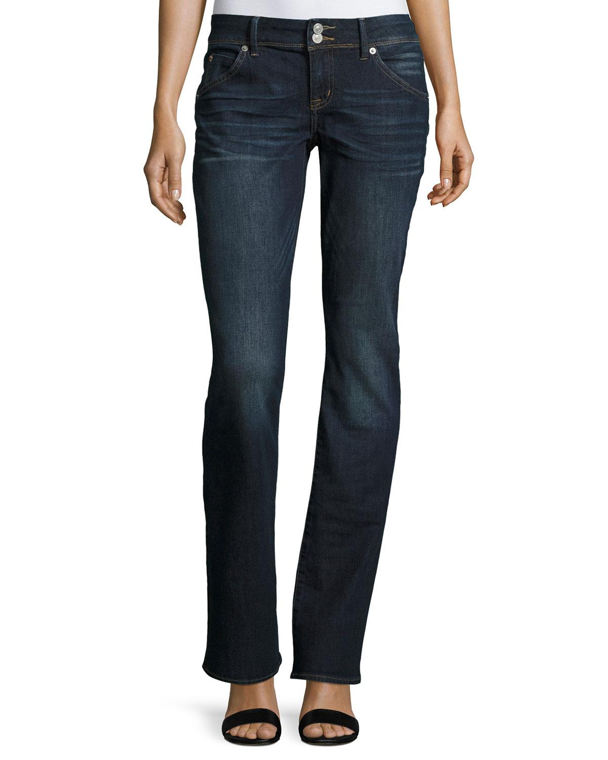 Hudson Jeans Beth Baby Boot Cut Jeans In Blue Lyst