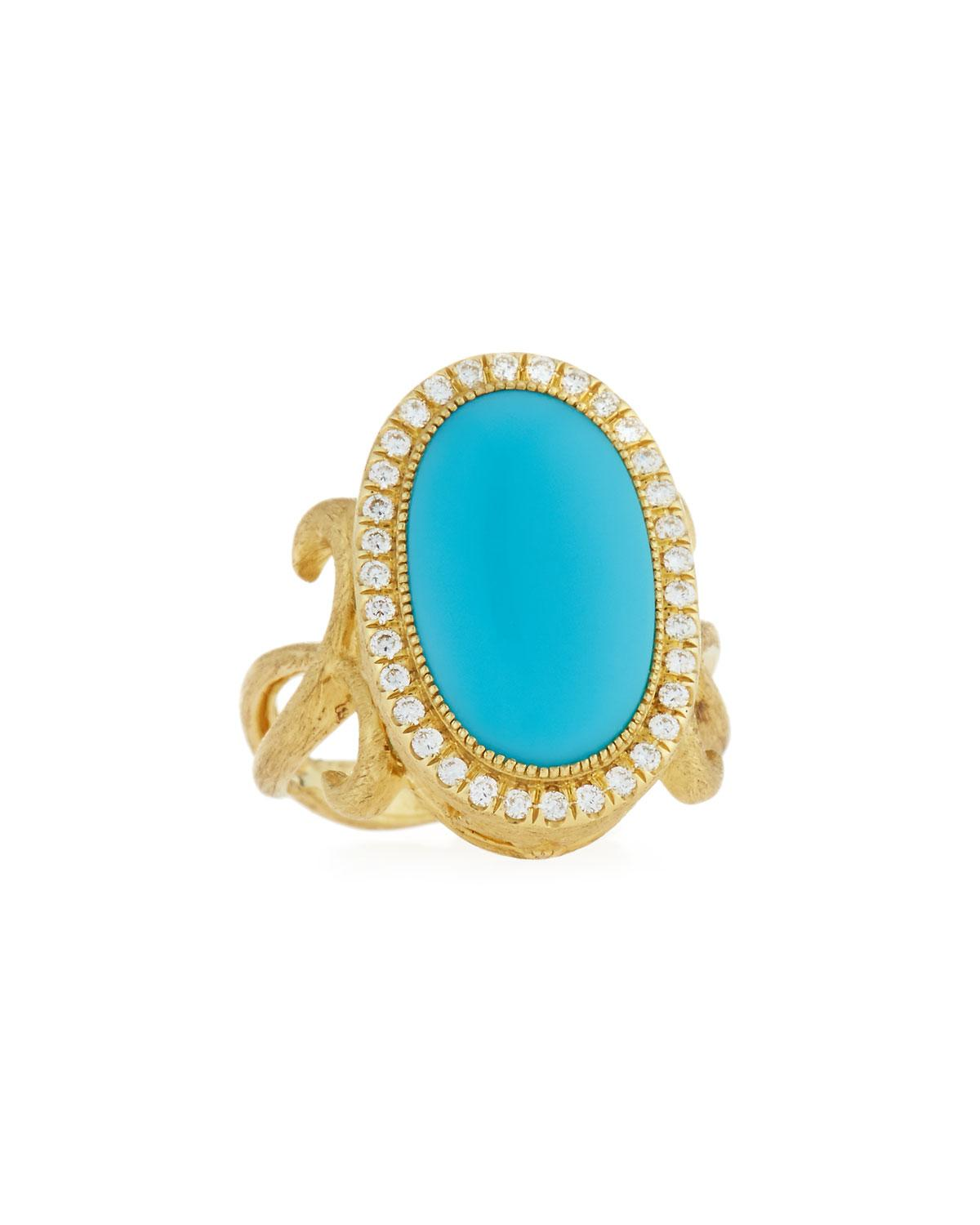 Jude Frances Turquoise Ring